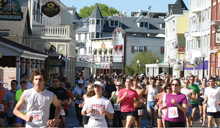 MACKINAC ISLAND EIGHT MILE RUN & WALK