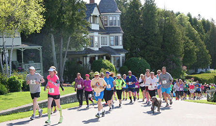 Mackinac Island Great Turtle Trail Run